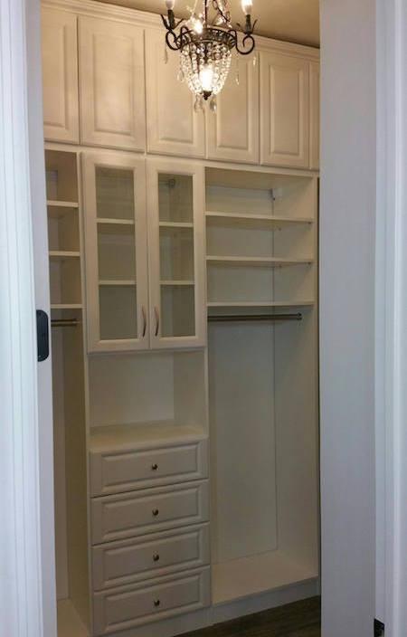 phoenix small custom walk-in closet