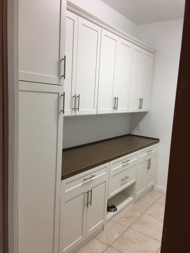 custom mudroom storage cabinets Phoenix
