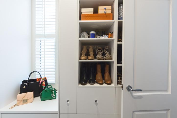 phoenix closet shoe storage