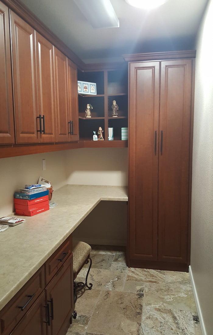 utility room turned office Scottsdale
