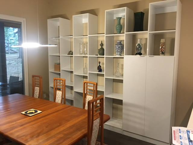 Entertainment Center And Custom Cabinetry Project In Flagstaff