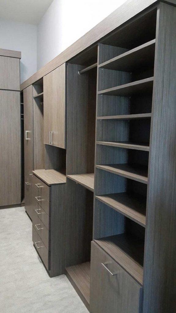contemporary custom closet design Phoenix, AZ