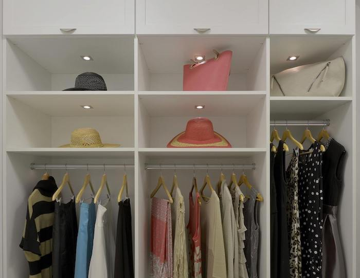 contemporary custom closet system Phoenix, AZ