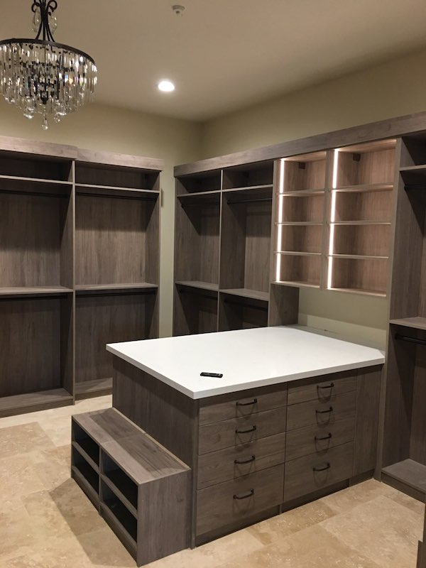 custom closet island storage Phoenix