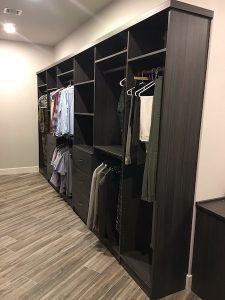 men walk-in closet awkward size Carefree AZ