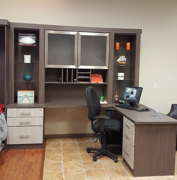 Closet & Storage Concepts Scottsdale showroom office desk