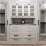 luxury custom closet with mirror doors Phoenix