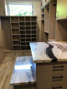 beige custom closet shoe storage Phoenix