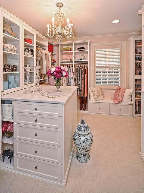 elegant custom closet storage system