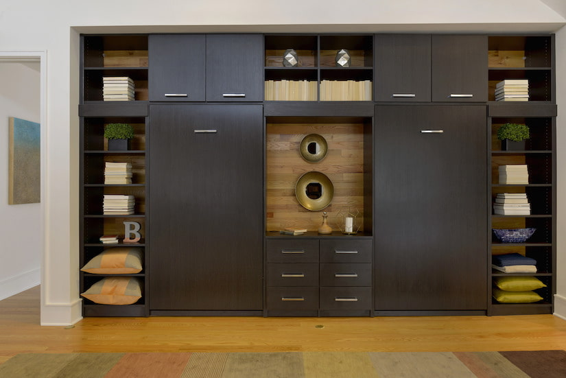 wall bed cabinetry storage for games