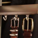 belt hanger in closet system
