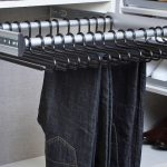 pullout pant rack storage