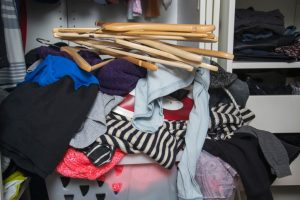 clothes in basket organizational resolution tips