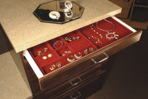jewelry storage and organization drawer