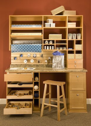 custom craft room system