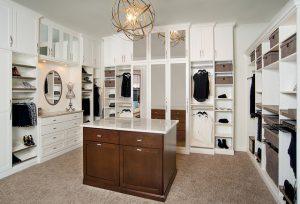 custom contemporary closet