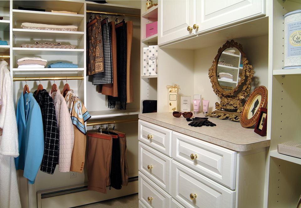 Custom Closet Vanity
