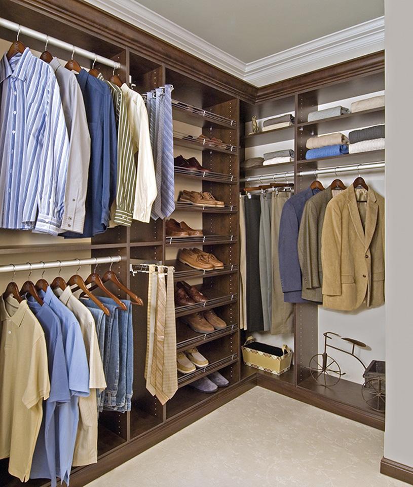 Men's Custom Closet