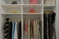 Custom Closet with Adjustable Shelving