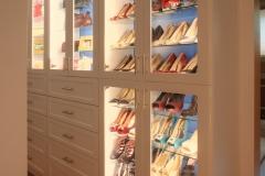Walk-In Closet Shoe Cabinet