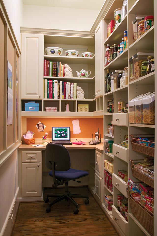 Custom Pantry Office