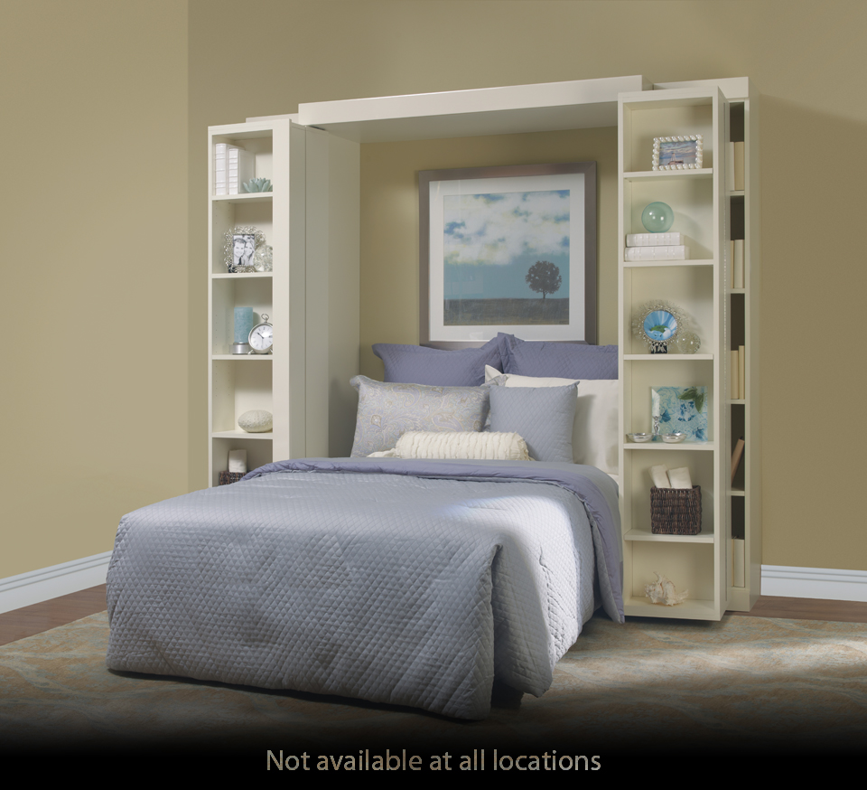Bookcase Bed Open